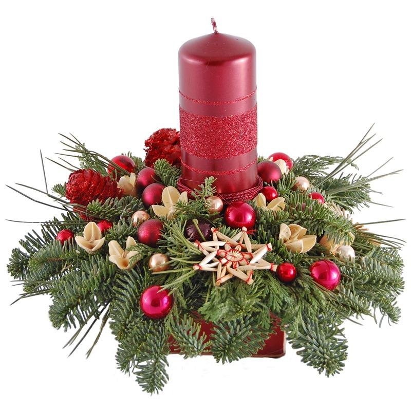 Stroik na Boże Narodzenie – Łódź Telekwiaciarnia